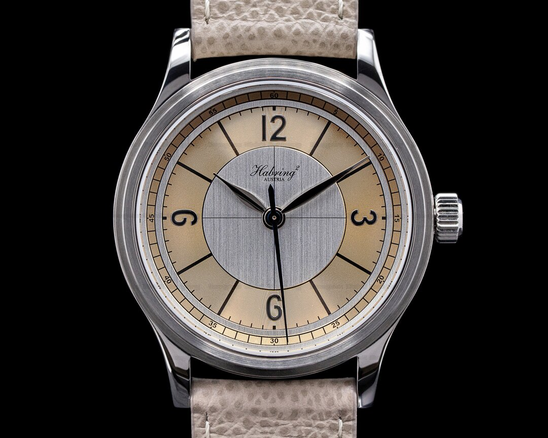 Habring Habring2 Massena Lab O2 Jumping Seconds Rose & Silver Dial Limited UNWOR Ref. ERWIN