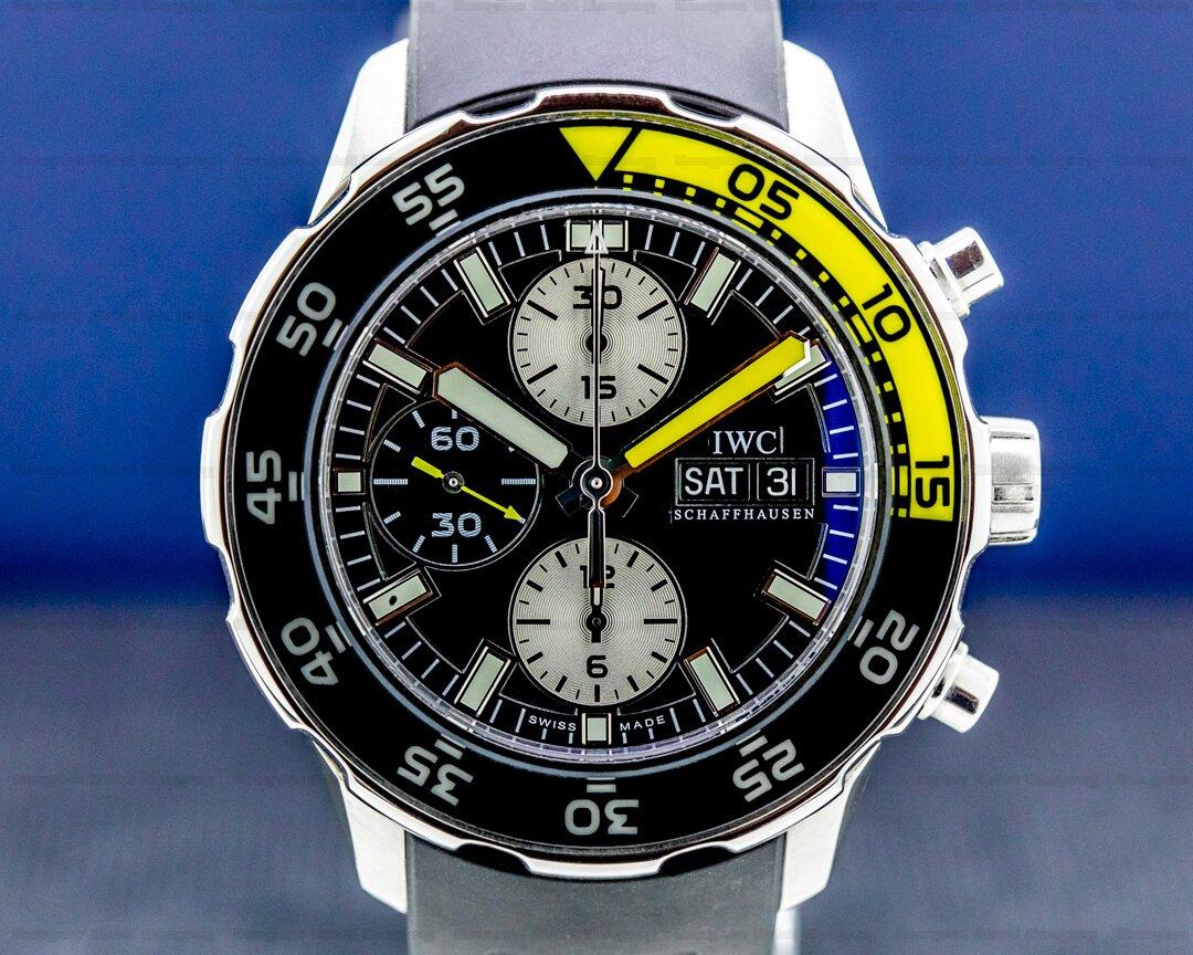 IWC Aquatimer Chronograph Automatic SS Ref. IW376702