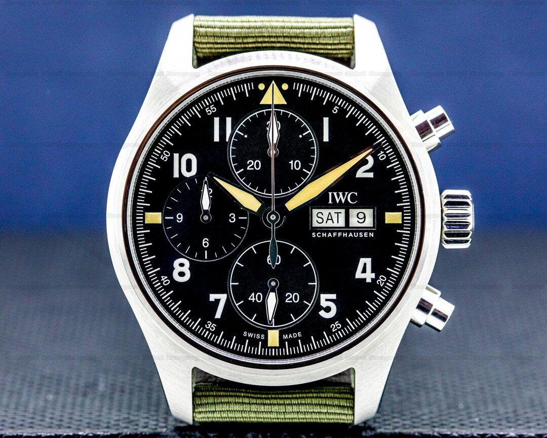 IWC Pilots Watch IW387901 Chronograph Spitfire Ref. IW387901
