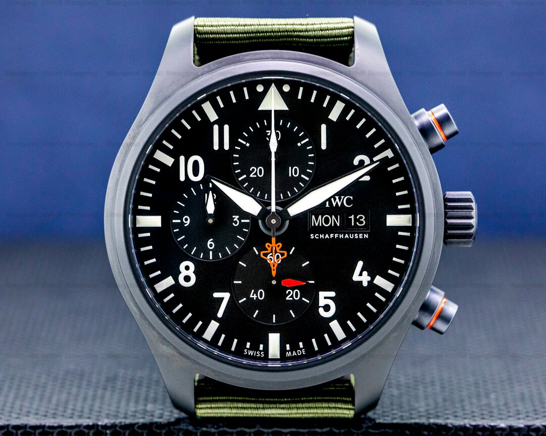 IWC Pilots Watch Chronograph Top Gun Edition SFTI LIMITED UNWORN Ref. IW389104