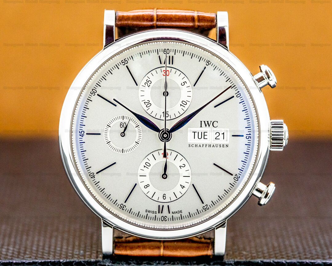IWC Portofino Chronograph SS Silver Dial Ref. IW391007