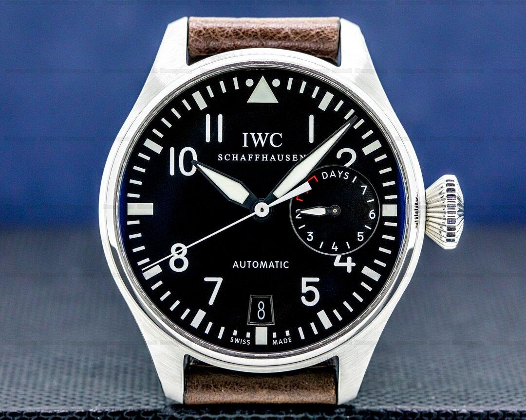 IWC Big Pilot 7 Day SS Ref. IW500401