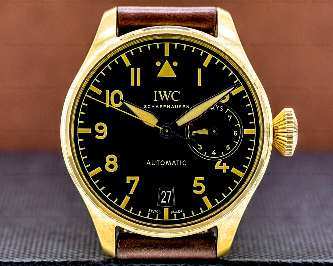 IWC Big Pilot BRONZE Black Dial Ref. IW501005