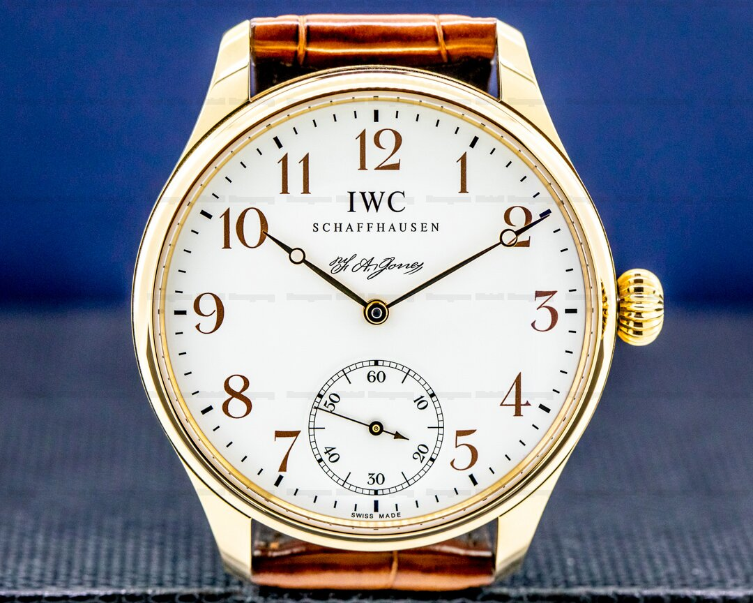 IWC Portuguese F.A. Jones Limited Edition 18K Rose Gold Ref. IW544201