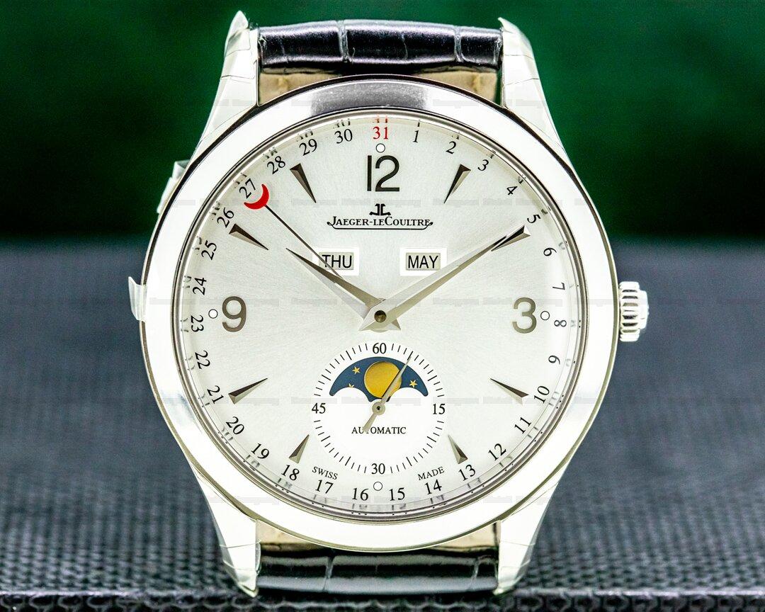 Jaeger LeCoultre Master Calendar SS Silver Dial Ref. Q1558420