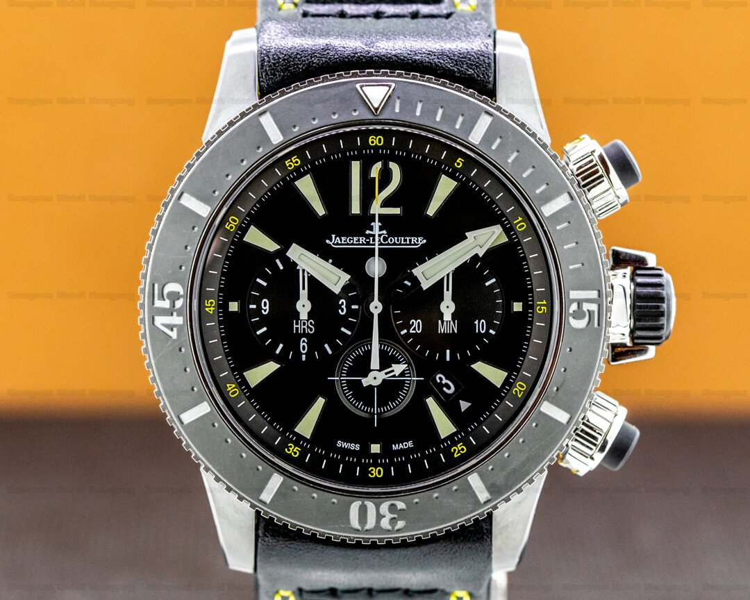 Jaeger LeCoultre Master Compressor Diving Chronograph GMT Navy Seals / Calfskin Ref. Q178T471