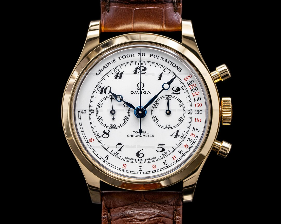 Omega Specialties Museum Collection The MDs Watch 18K Yellow Gold LIMITED Ref. 51653395009001