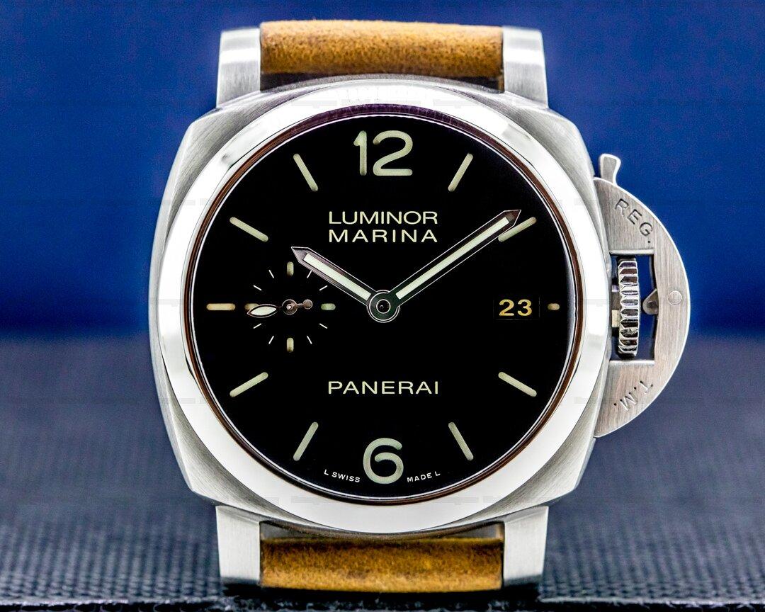 Panerai Luminor Automatic SS Black Dial 42MM Ref. PAM00392