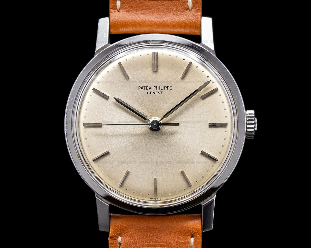 Patek Philippe Vintage 3483 Stainless Steel Center Sweep Seconds Ref. 3483