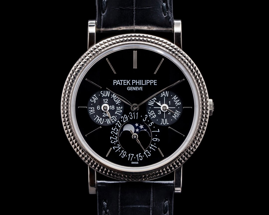 Patek Philippe Perpetual Calendar 5139G Black Dial 18K White Gold Ref. 5139G-001