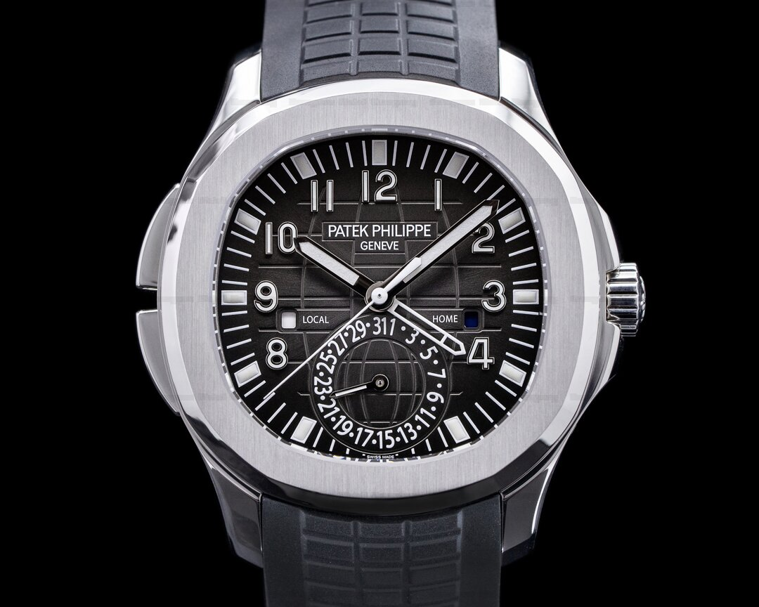 Patek Philippe Aquanaut 5164A Travel Time SS / Rubber 2019 Ref. 5164A-001