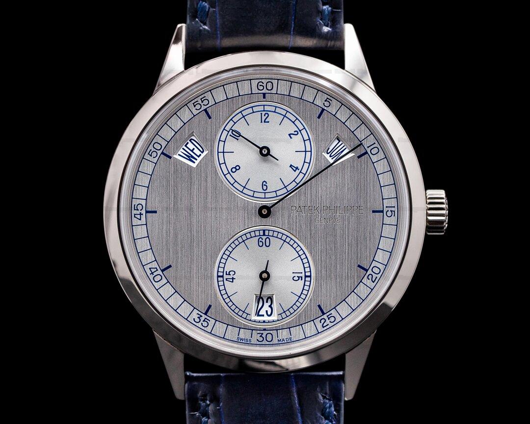 Patek Philippe Annual Calendar 5235G Regulator 18K White Gold Ref. 5235G-001