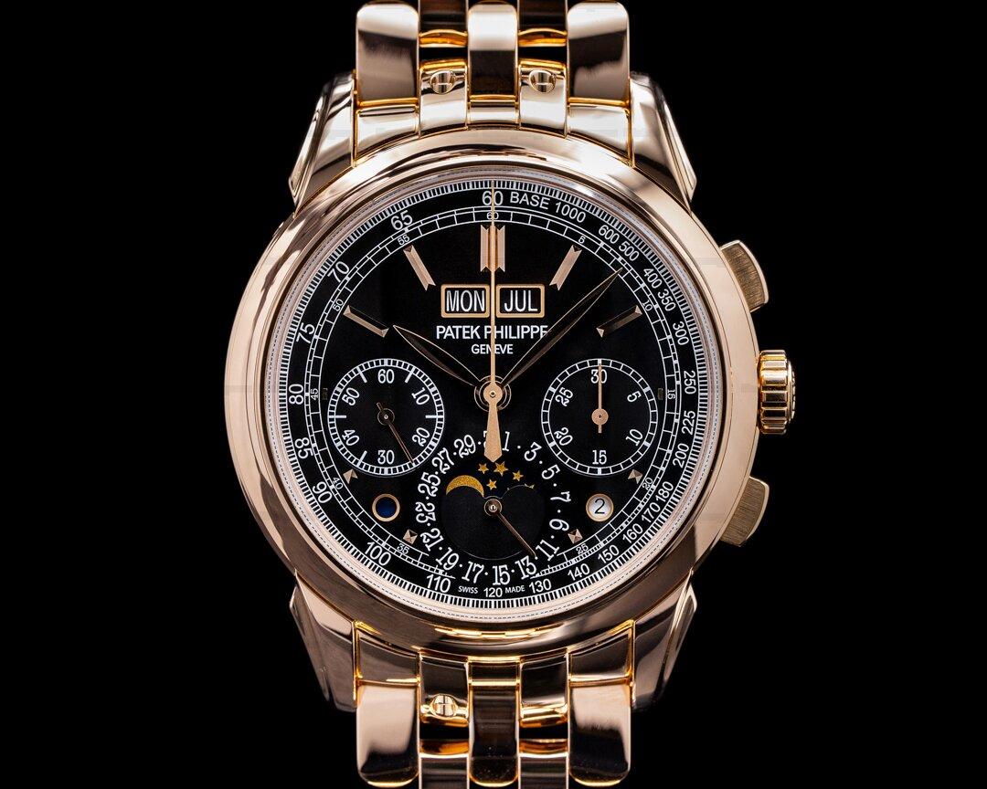 Patek Philippe Perpetual Calendar 5270/1R Chronograph Rose Gold 2019 Ref. 5270/1R-001