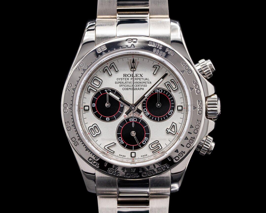 Rolex Daytona Black Arabic 18K White Gold / Panda Dial Ref. 116509