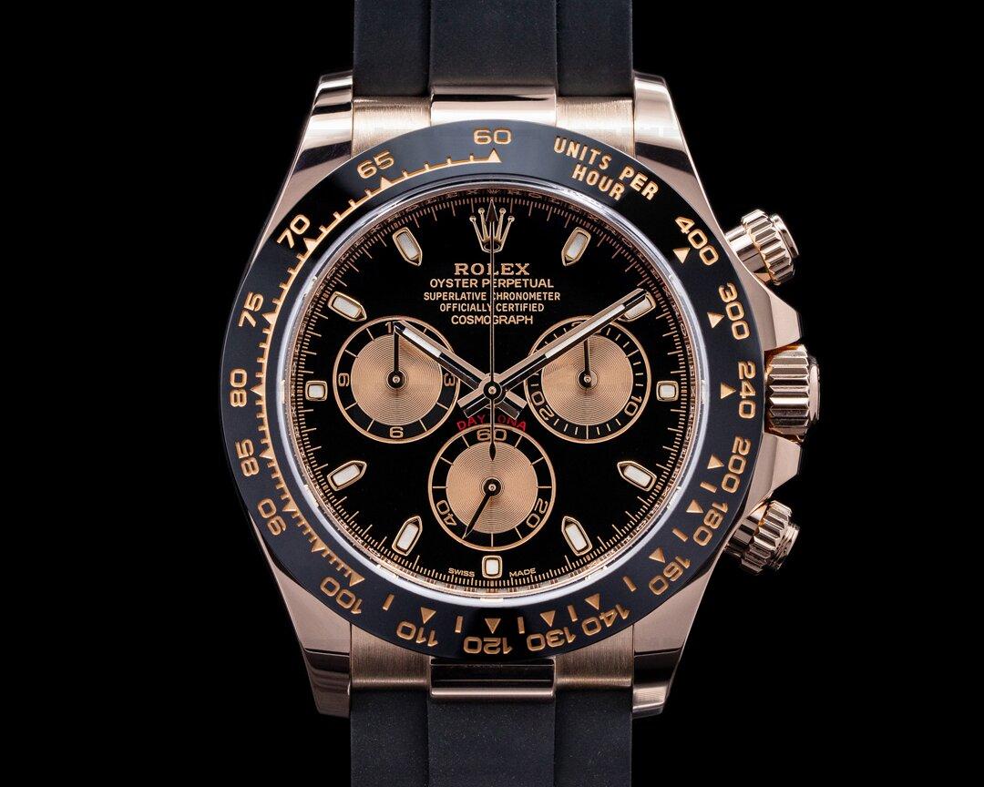 Rolex Cosmograph Daytona 116515LN Ceramic 18K Everose Gold / Rose Dial Ref. 116515LN