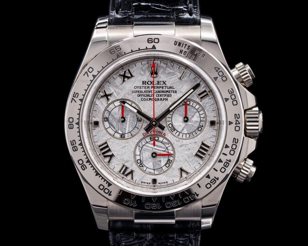 Rolex Daytona 116519 18K White Gold / Meteorite Dial Ref. 116519
