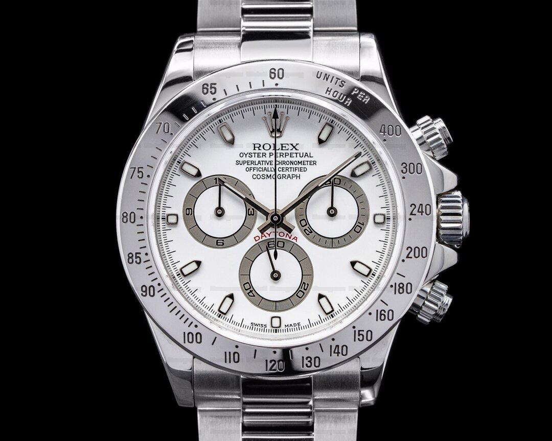 Rolex Daytona 116520-0016 White Dial SS Ref. 116520-0016