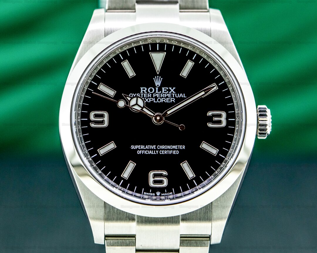 Rolex Explorer I 124270 36MM NEW MODEL 2021 Ref. 124270