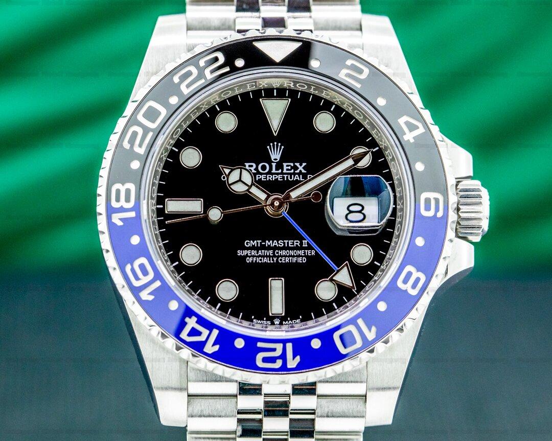 Rolex GMT Master II 126710 Ceramic Batman SS / Jubilee Ref. 126710 BLNR
