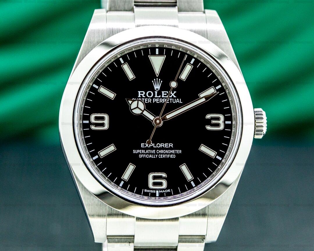Rolex Explorer I 214270 39MM DISCONTINUED Ref. 214270