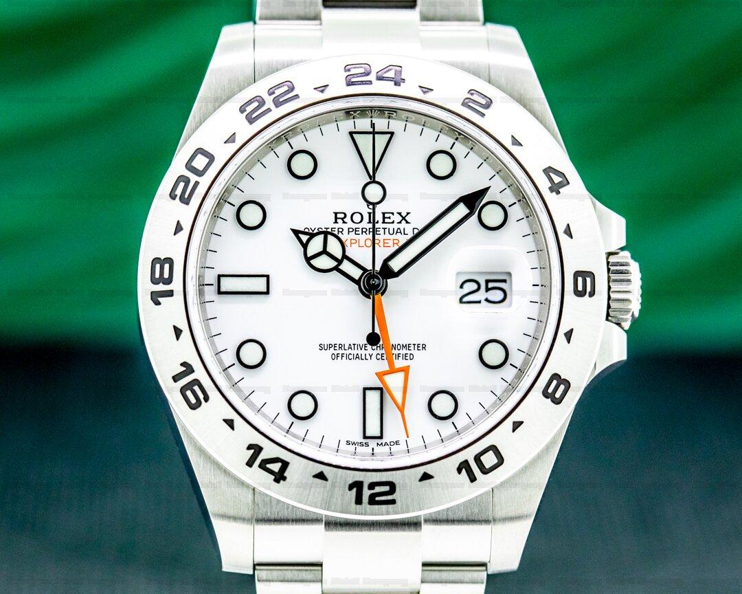 Rolex Explorer II White Dial SS 2020 Ref. 216570