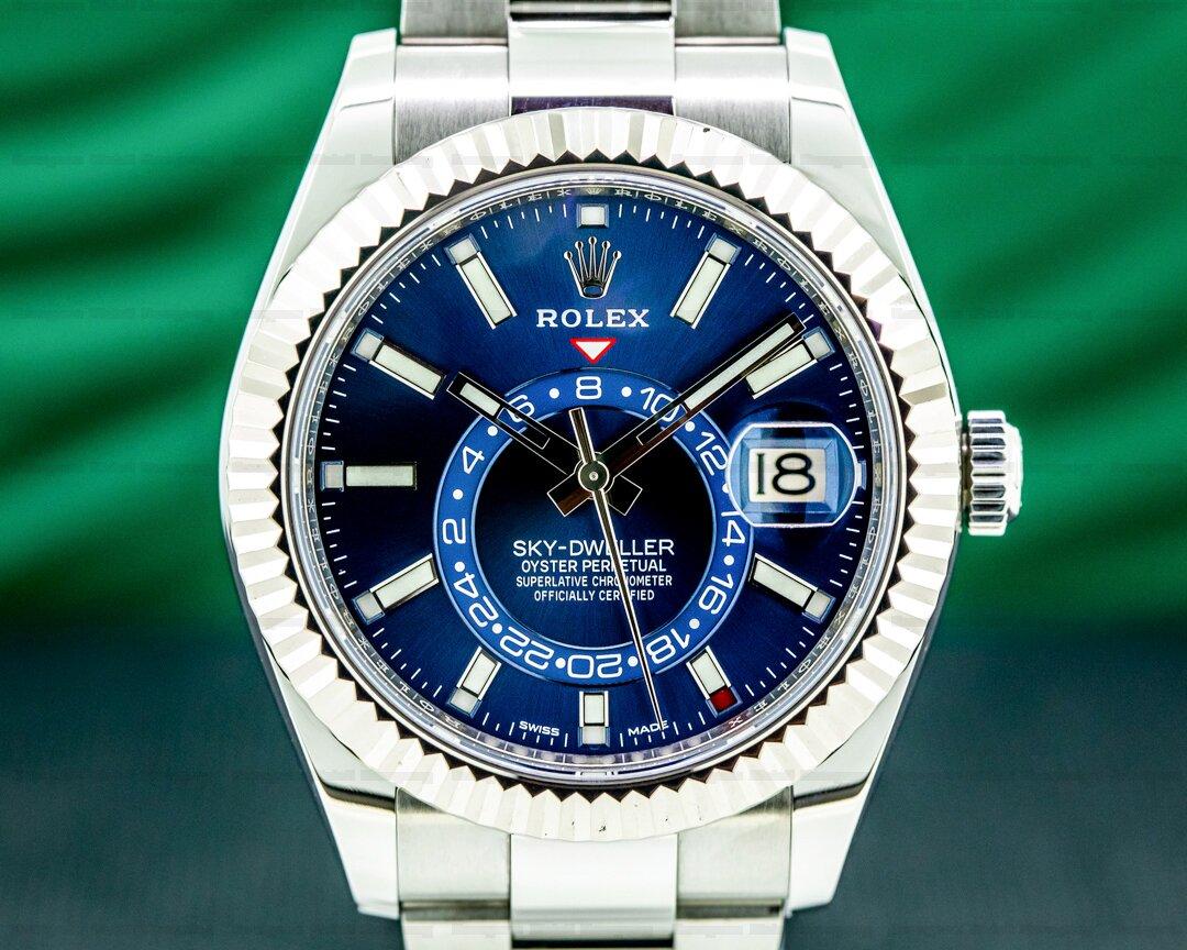 Rolex Sky Dweller 326934 SS Blue 2019 Ref. 326934