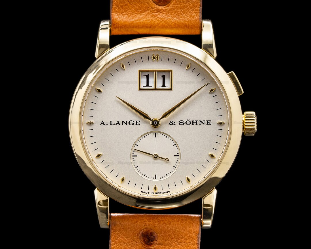 A. Lange and Sohne Saxonia 105.021 Manual Wind 18K Yellow Gold Ref. 105.021