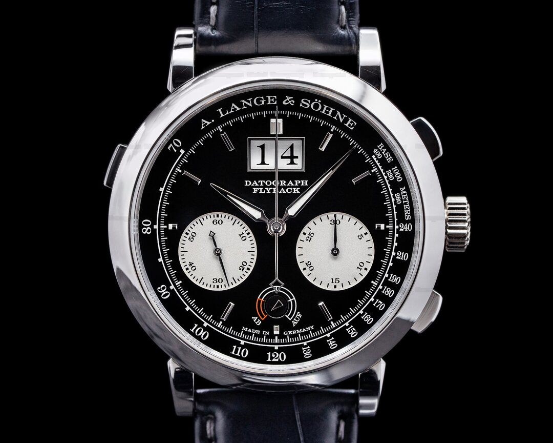 A. Lange and Sohne Datograph 405.035 Up / Down Platinum 41MM 2021 Ref. 405.035