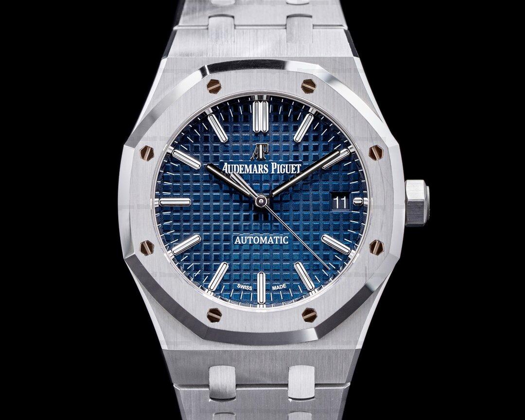 Audemars Piguet Royal Oak 15450ST Blue Dial SS / SS Midsize Ref. 15450ST.OO.1256ST.03