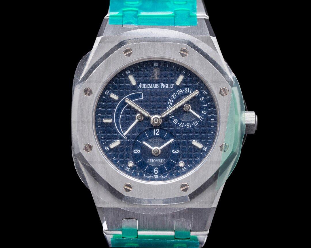 Audemars Piguet Royal Oak Dual Time 25730ST Blue Dial AP SERVICED FULL SET Ref. 25730ST.O.0789ST.06