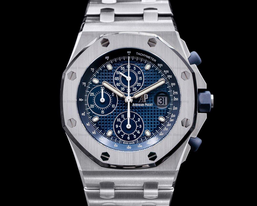Audemars Piguet Royal Oak Offshore 26237ST Blue Dial Ref. 26237ST.OO.1000ST.01