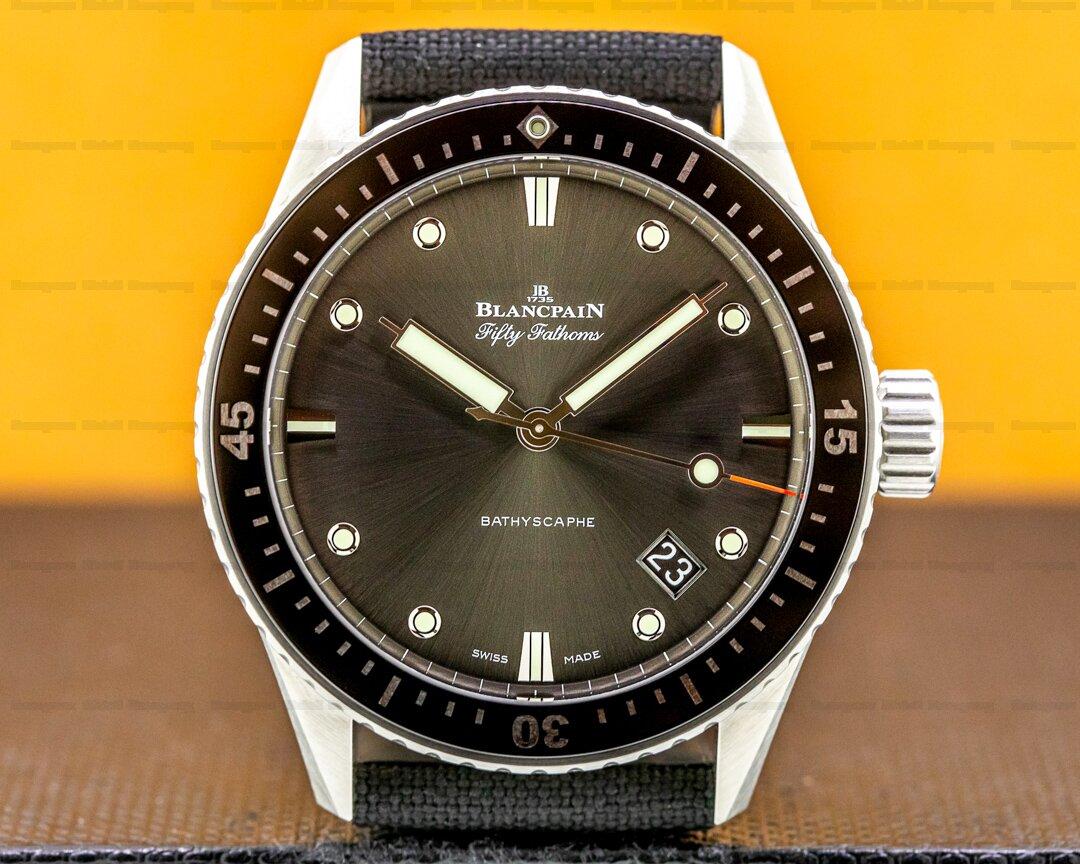Blancpain Fifty Fathoms Bathyscaphe SS 2021 Ref. 5000-1110-b52a