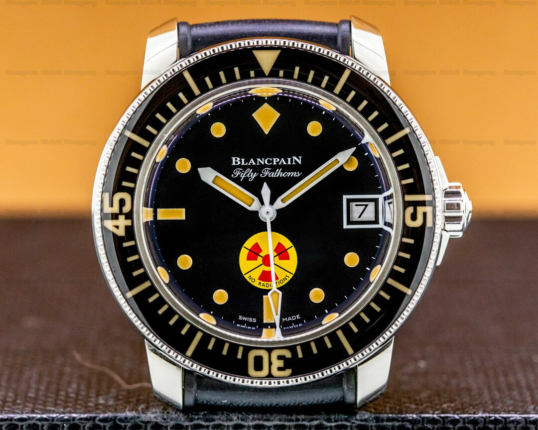 Blancpain Tribute To Fifty Fathoms No Radiations SS Limited 2021 Ref. 5008D-1130-B64A