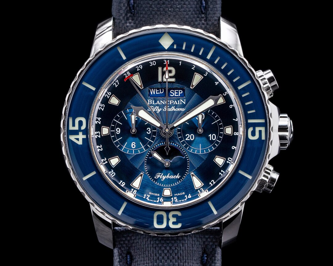 Blancpain Fifty Fathoms Complete Calendar Flyback SS / Blue Dial 2021 Ref. 5066F-1140-52B