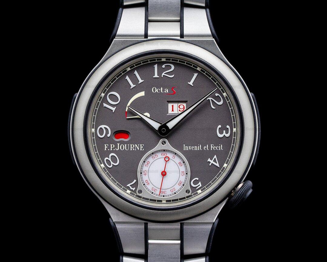 F. P. Journe Octa S Sport Aluminum / Aluminum Bracelet FPJ SERVICED Ref. ARS Aluminum