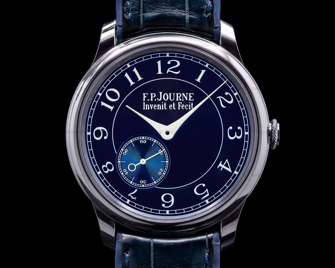 F. P. Journe Chronometre Bleu Tantalum Blue Dial Ref. CB Chronometre Bleu