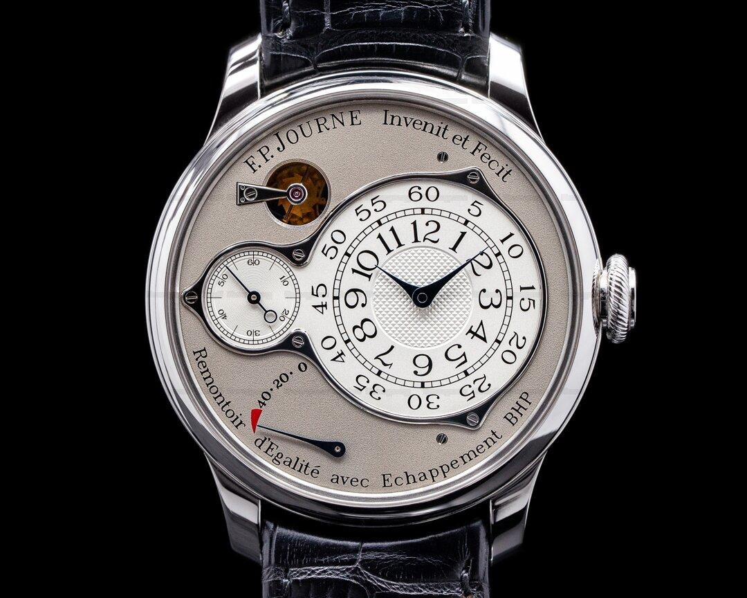 F. P. Journe Chronometre Optimum Platinum Silver Dial 42MM Ref. Optimum Platinum 42