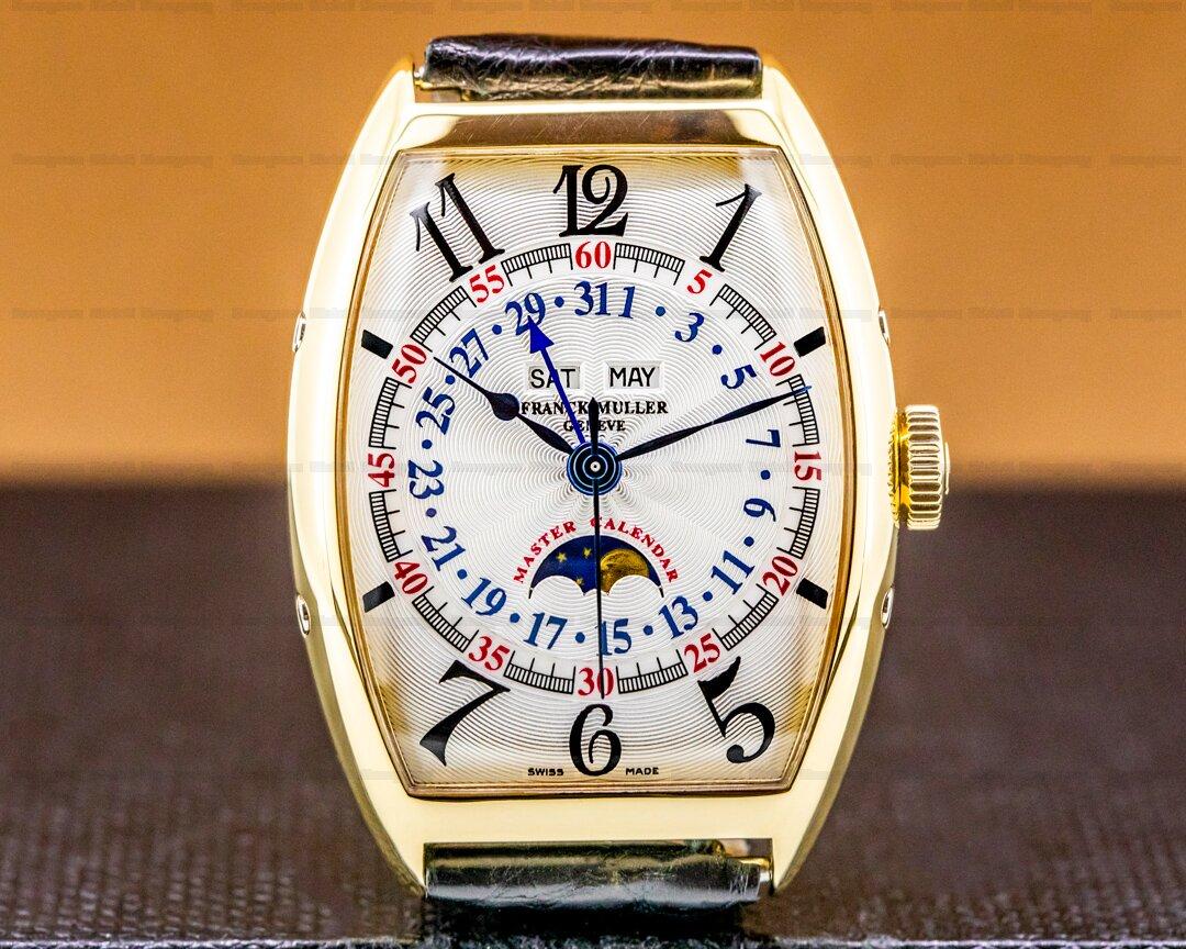 Franck Muller Master Calendar 18k Yellow Gold FULL SET Ref. 6850 MC L