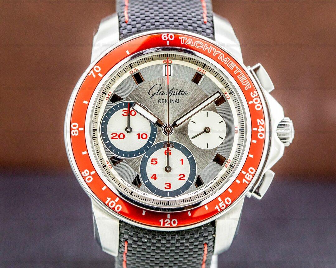 Glashutte Original Sport Evolution Chronograph 42MM Ref. 39-31-46-05-14