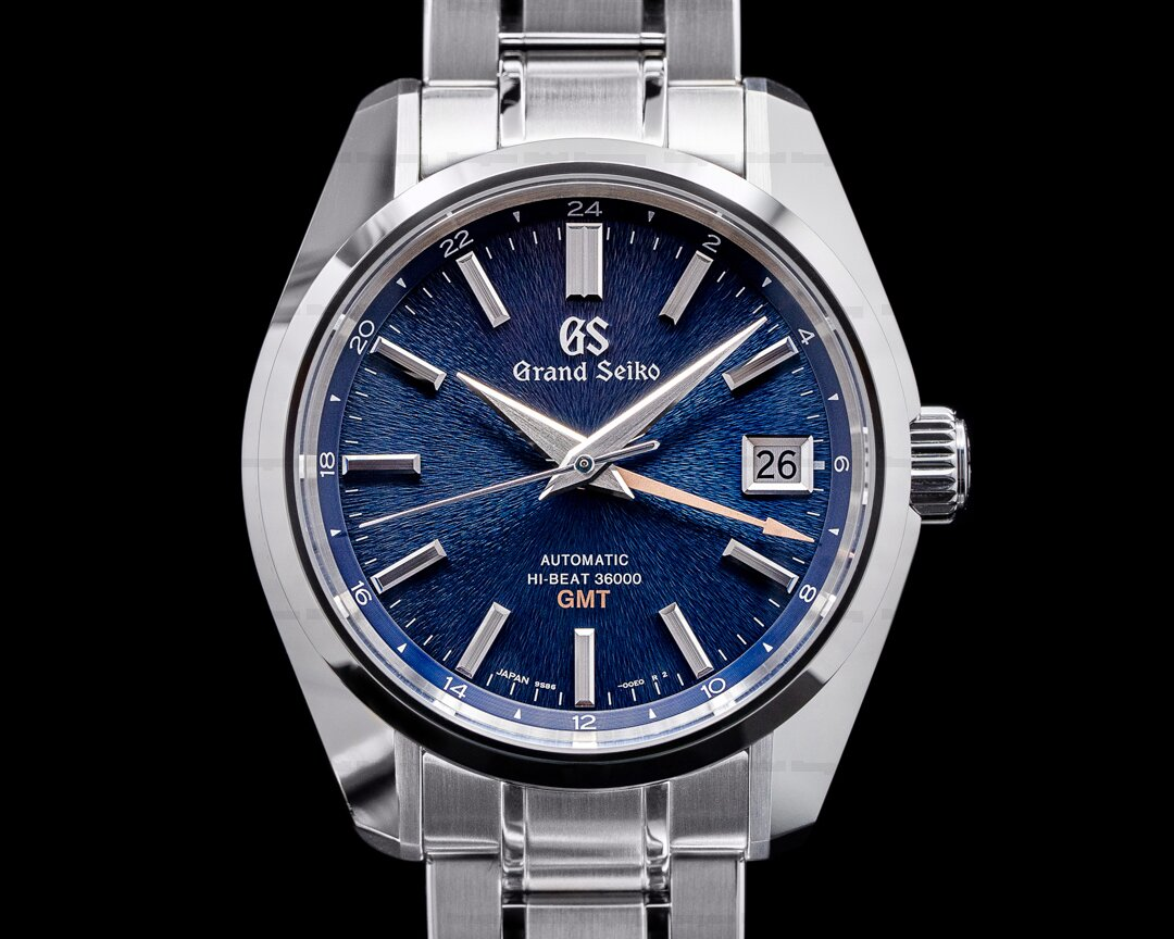 Grand Seiko Heritage Hi-Beat 36000 GMT Blue Dial SS LIMITED EDITION Ref. SBGJ235