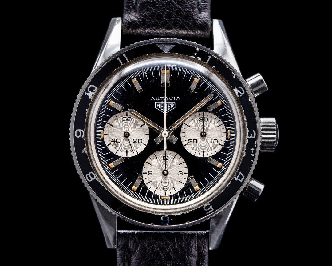 Heuer Autavia 2446 Jochen Rindt Panda Chronograph Ref. 2446