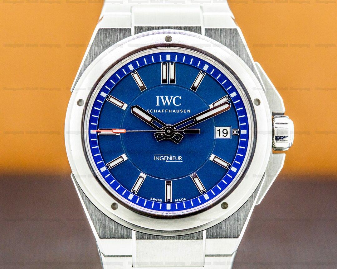 IWC Ingenieur Laureus Blue Dial Limited SS Ref. IW323909