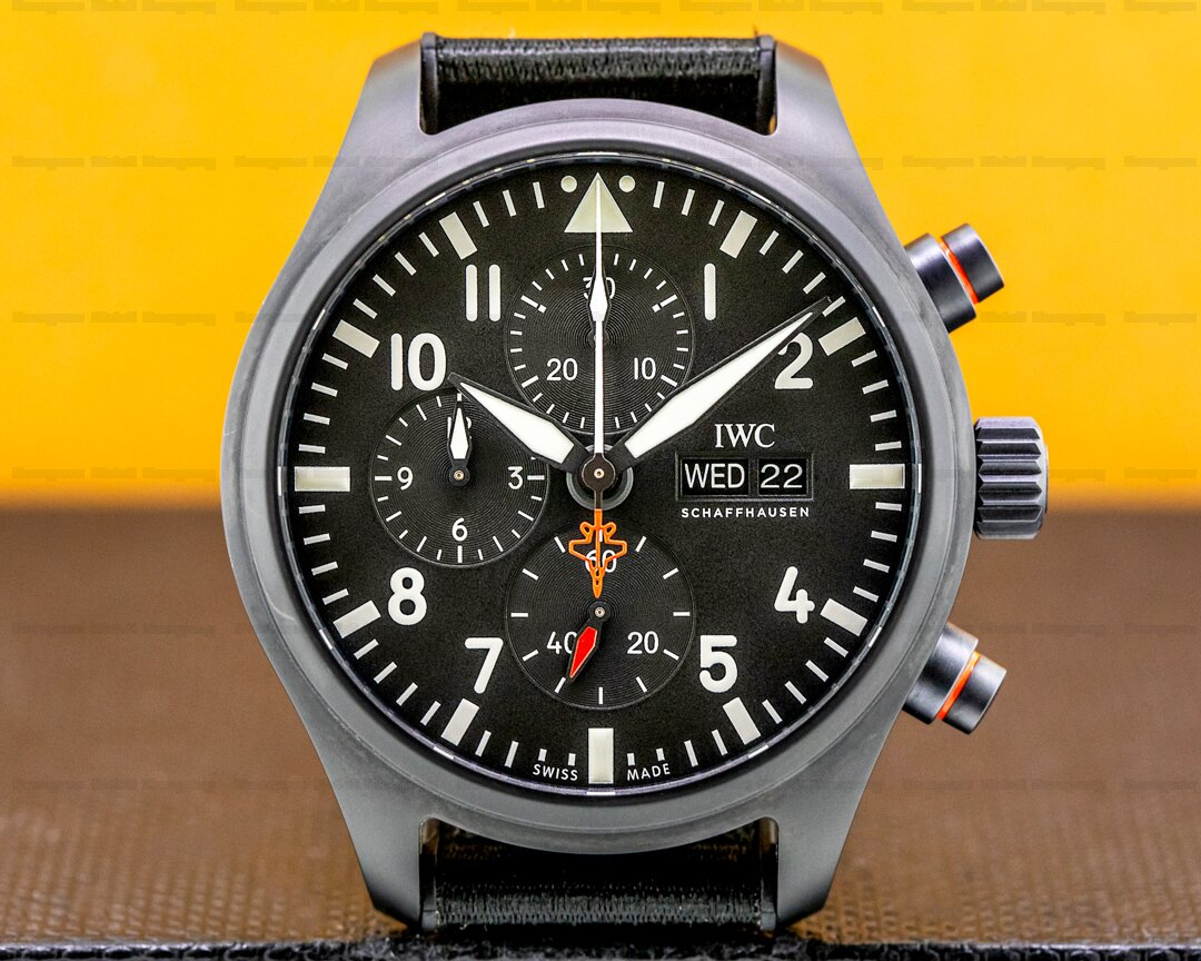 IWC Pilots Watch Chronograph Top Gun Edition SFTI LIMITED Ref. IW389104