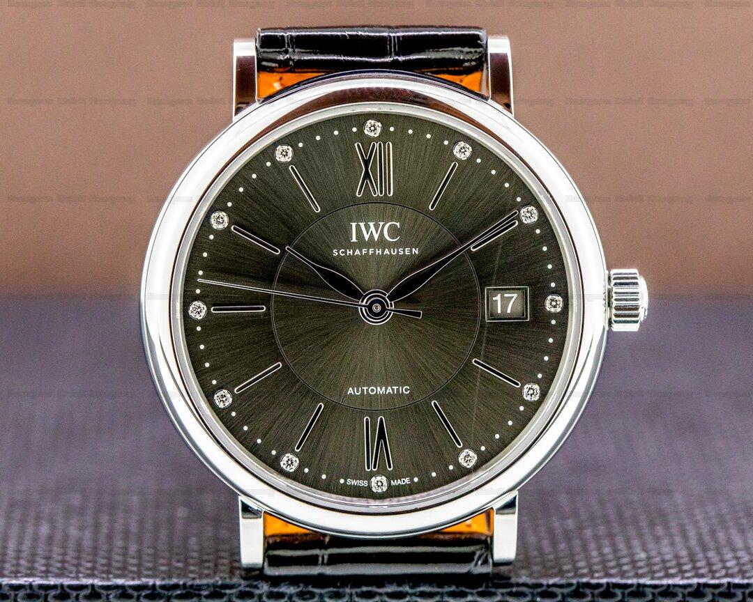 IWC Portofino Gray Dial SS 37mm Ref. IW458102