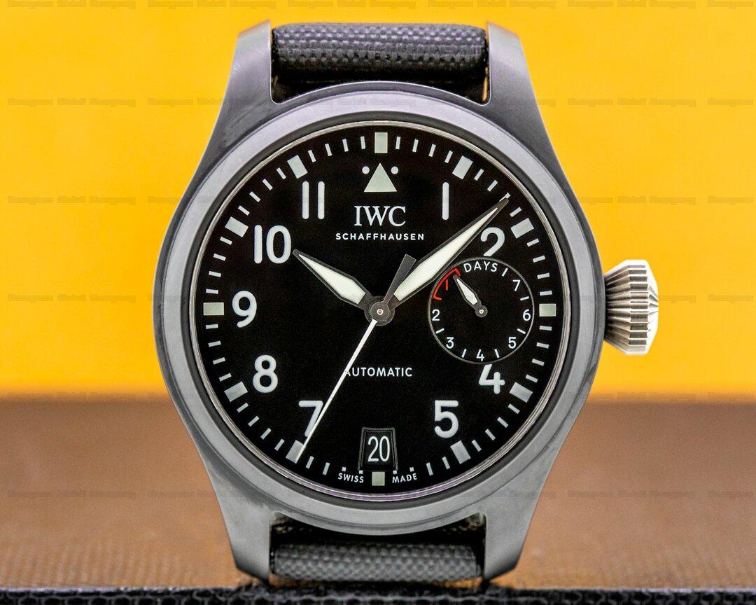 IWC Big Pilot TOP GUN 7 Day Ceramic 46MM Ref. IW502001
