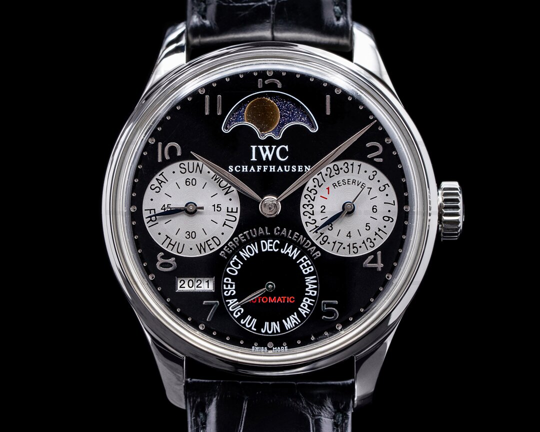 IWC Portuguese Perpetual Calendar SS Limited to 25 Pieces for Cellini Ref. IW502113
