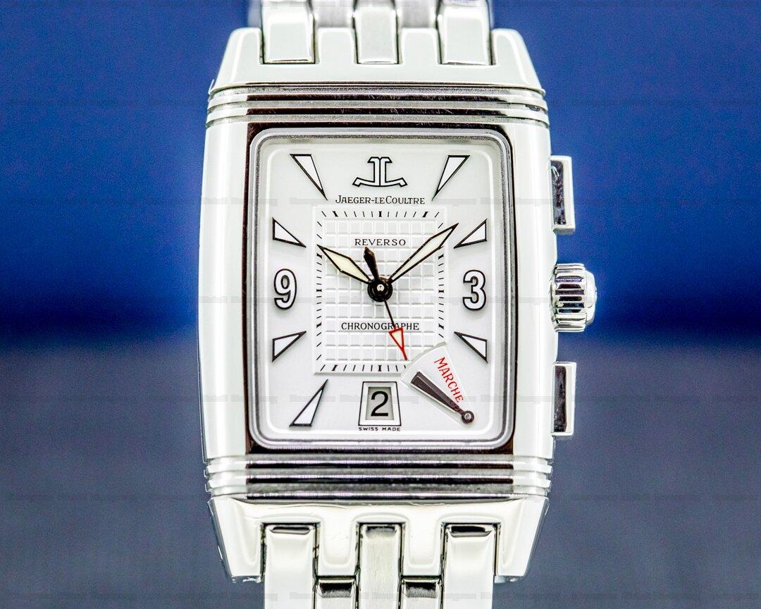 Jaeger LeCoultre GranSport Chronograph SS / Bracelet Ref. 295.8.59