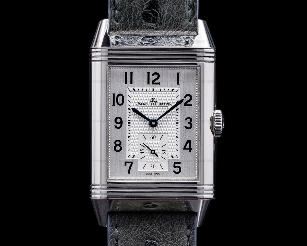 Jaeger LeCoultre Reverso Classic Large Duoface Green Marble Boutique Edition RARE Ref. Q38484AF