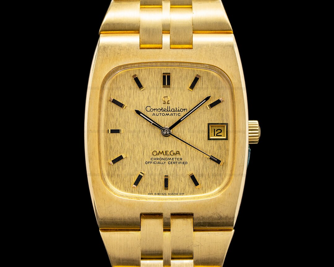 Omega Omega Constellation Automatic 18K Yellow Gold Ref. BA368.0847