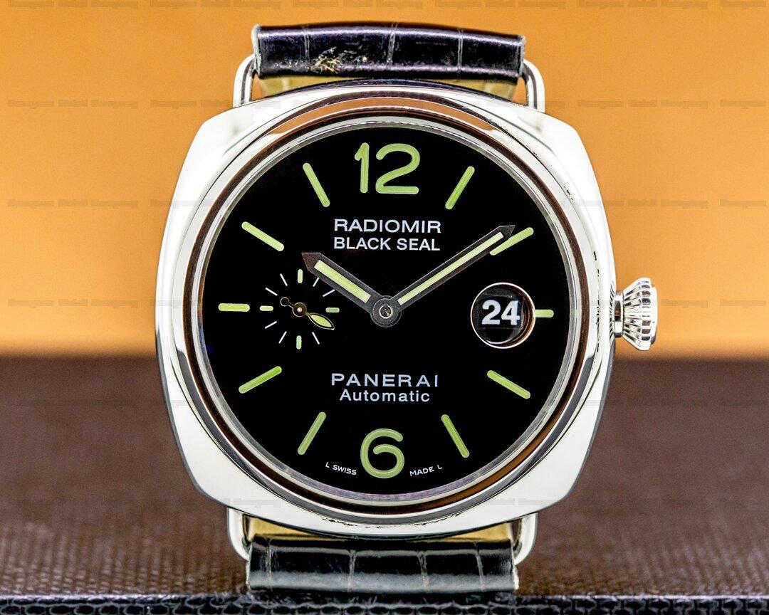 Panerai Radiomir Black Seal SS Ref. PAM00287